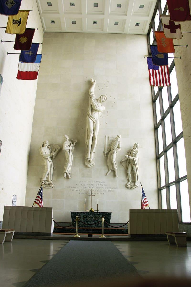 Cimetiere-US-La-chapelle-memorial